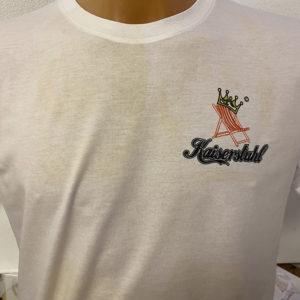 T-Shirt<br>individuell bedruckt